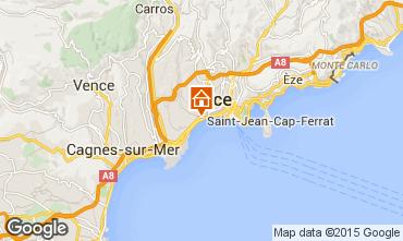 Mappa Nizza Appartamento 93557