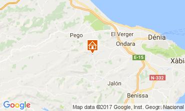 Mappa Dénia Villa  112167