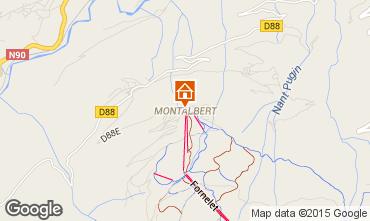 Mappa La Plagne Chalet 27113