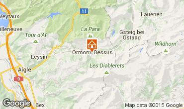 Mappa Les Diablerets Appartamento 73953