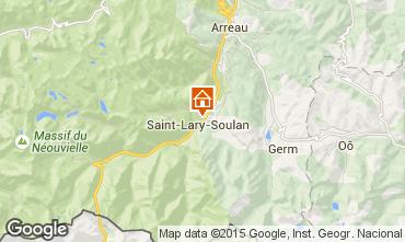 Mappa Saint Lary Soulan Appartamento 16744