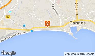 Mappa Cannes Appartamento 44413