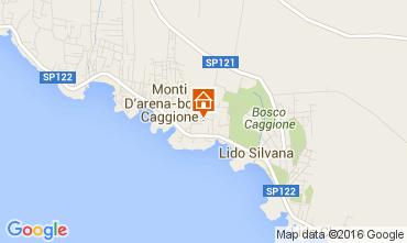 Mappa Pulsano Villa  45622