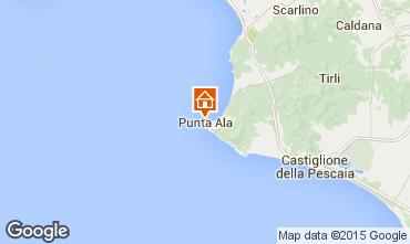 Mappa Punta Ala Appartamento 75502