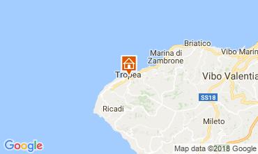 Mappa Tropea Appartamento 113964