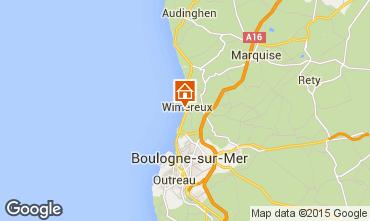 Mappa Wimereux Monolocale 93546
