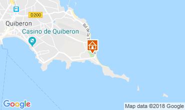Mappa Quiberon Casa mobile 112563