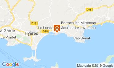 Mappa La Londe les Maures Appartamento 68666
