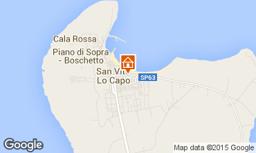 Mappa San Vito lo Capo Appartamento 83160