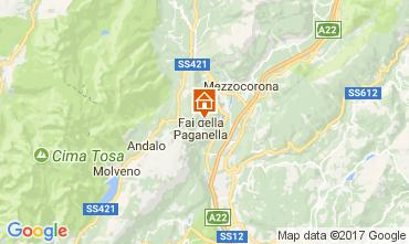 Mappa Andalo - Fai della Paganella Appartamento 104639