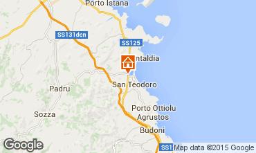 Mappa San Teodoro Appartamento 71515