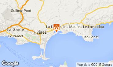 Mappa Hyères Appartamento 5831