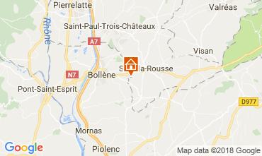Mappa Suze la Rousse Casa 113750