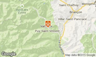 Mappa Puy Saint Vincent Chalet 94407