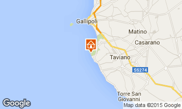 Mappa Gallipoli Villa  95636