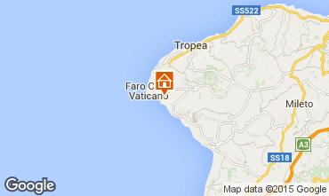 Mappa Tropea Appartamento 62516