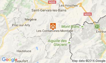 Mappa Les Contamines Montjoie Chalet 107147