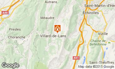 Mappa Villard de Lans - Corrençon en Vercors Chalet 3641