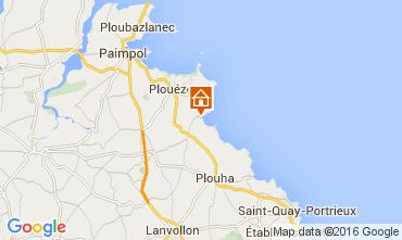 Mappa Paimpol Villa  105504
