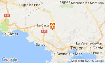 Mappa Bandol Villa  96989