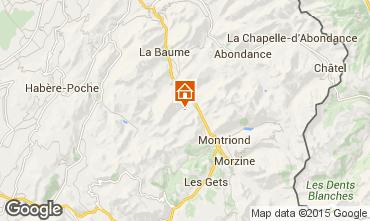 Mappa Saint Jean d'Aulps- La Grande Terche Appartamento 38397