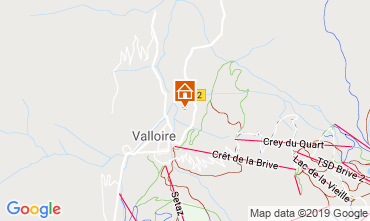 Mappa Valloire Chalet 116466