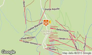 Mappa Les 2 Alpes Monolocale 73843