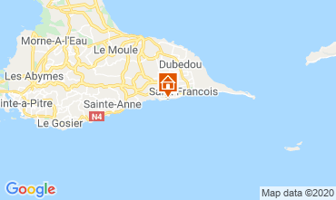 Mappa Saint Francois Monolocale 68998