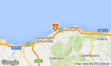 Mappa Cefal� Villa  62199