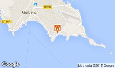 Mappa Quiberon Appartamento 17507
