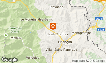 Mappa Serre Chevalier Chalet 30547