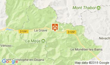 Mappa Villar-d'Arêne Chalet 113346