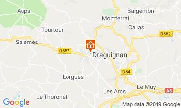 Mappa Draguignan Villa  98537