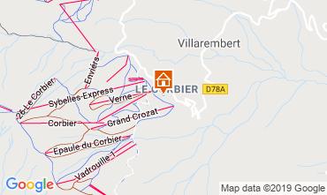 Mappa Le Corbier Appartamento 1005