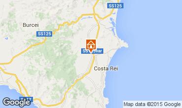 Mappa Costa Rei Casa 81863