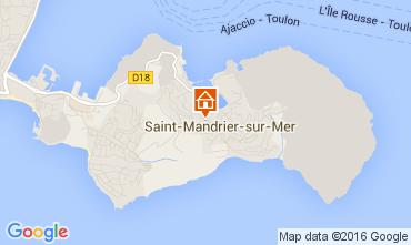 Mappa Saint Mandrier sur Mer Appartamento 105934