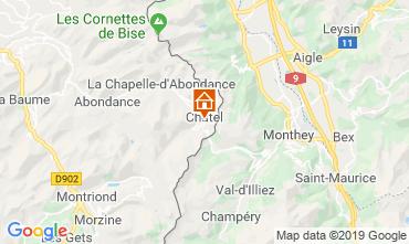 Mappa Châtel Appartamento 117683