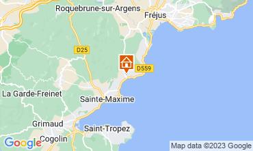 Mappa Les Issambres Appartamento 108738