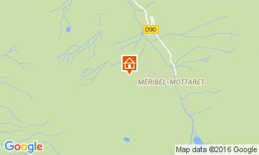 Mappa Méribel Monolocale 34311