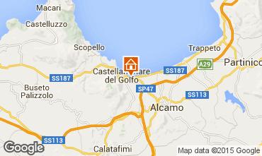 Mappa Castellammare del Golfo Appartamento 67566