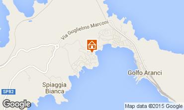 Mappa Golfo Aranci Appartamento 83860