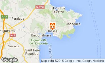 Mappa Rosas Appartamento 76045