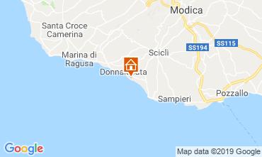 Mappa Donnalucata Casa 119515