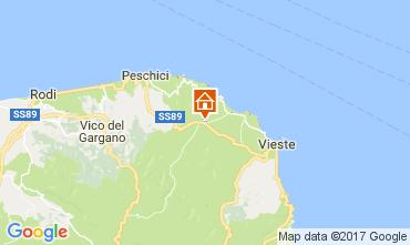 Mappa Vieste Villa  109613