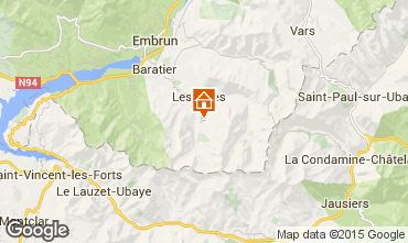 Mappa Les Orres Monolocale 2105