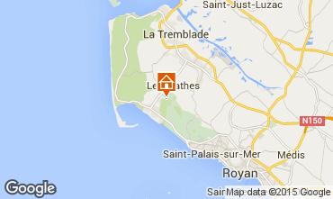 Mappa La Palmyre Casa mobile 63465