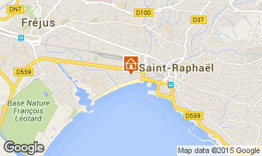 Mappa Saint Raphael Monolocale 8501