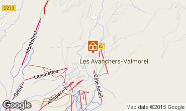 Mappa Valmorel Agriturismo 73377