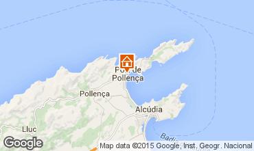 Mappa Puerto Pollensa Appartamento 69561