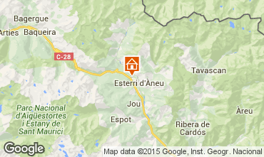 Mappa Baqueira-Beret Chalet 27954